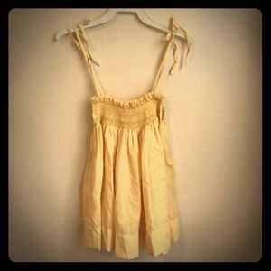 Vintage Gingham Smocked Sun Dress
